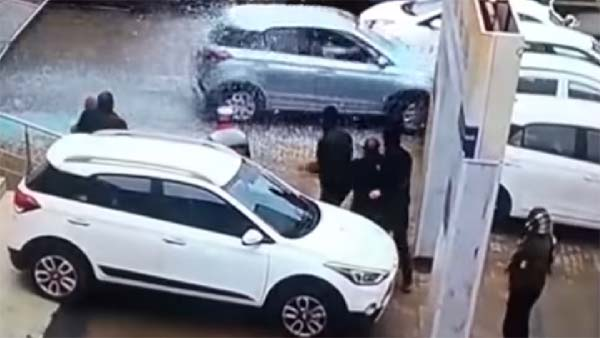 Car Purchase Gone Wrong: Woman Crashes Display Car In Hyundai Showroom