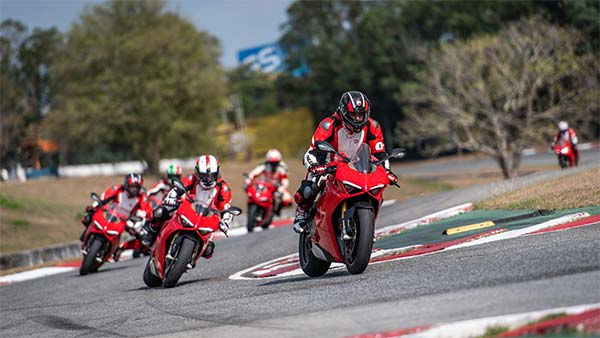 Ducati DRE India - Racetrack Training
