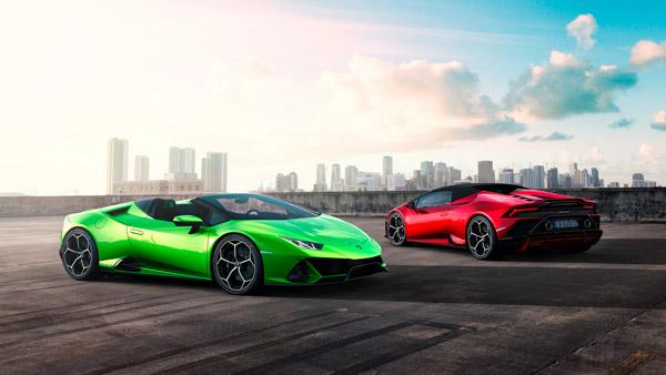 Lamborghini Huracan Evo Spyder Revealed Ahead Of Geneva Motor Show