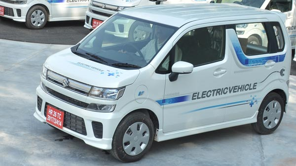 Maruti Wagon R Electric With Fast-Charging