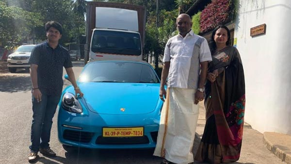Most Expensive Number Plate In India: A Porsche 718 Boxter