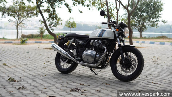 Royal Enfield Continental Gt 650 Custom Exhaust Note Video