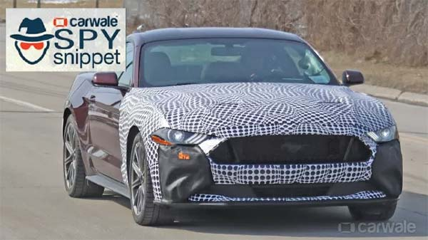 2020 Ford Mustang Hybrid Spotted Testing