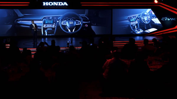 All-New Honda Civic Interiors