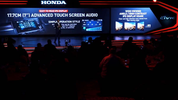 2019 Honda Civic — Infotainment System
