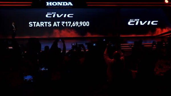 Prices for the all-new Honda Civic