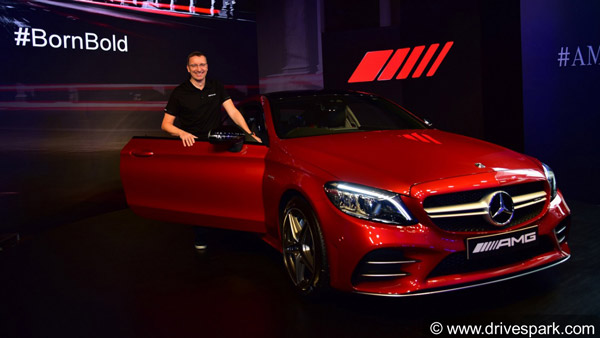 mercedes-amg c43 coupe launched in india