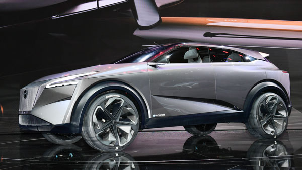 nissan imq concept side profile