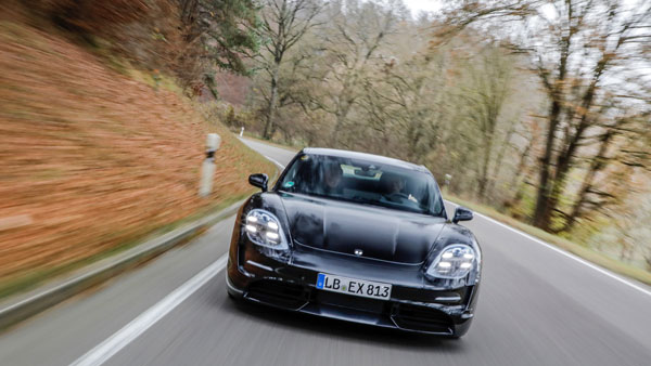 Porsche Taycan Teased Ahead Of Debut
