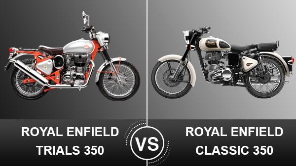 Royal Enfield Bullet Trials 350 Vs Classic 350 Design Engine