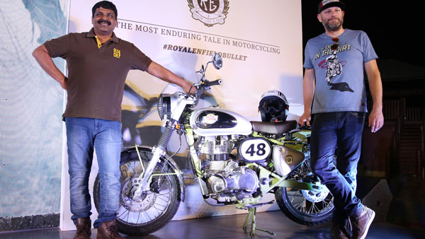 Royal Enfield Launches Bullet trials 350 and 500 In Ind