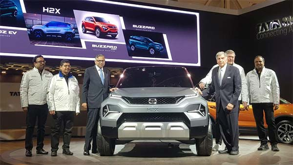 Tata H2X (Hornbill) Micro-SUV Concept Unveiled