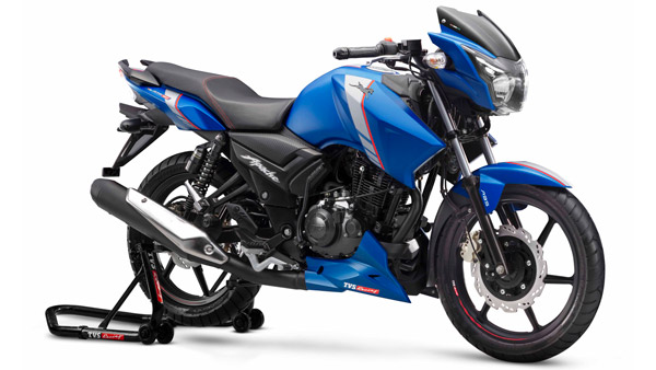 tvs apache rtr 160 abs launched in india