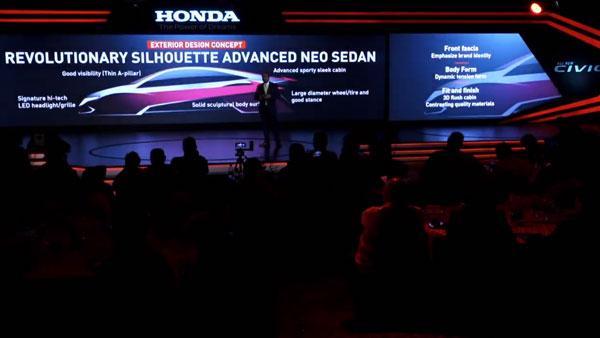 2019 Honda Civic Design