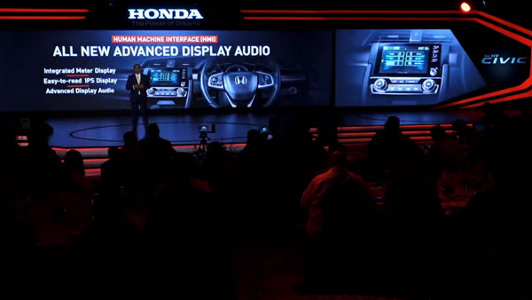 Features on the new Honda Civic