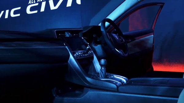 New Honda Civic Interiors