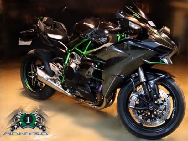 Mantra Racing Kawasaki Ninja H2 Gets Stage 3 Ecu Flash Spits
