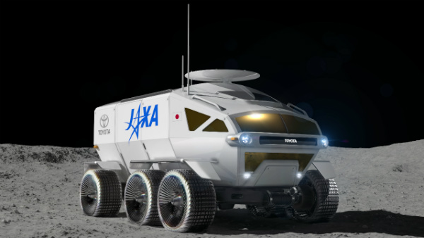 Toyota's Next Big Vehicle Will Explore The Moon — Promises Out Of This World Electric Range
