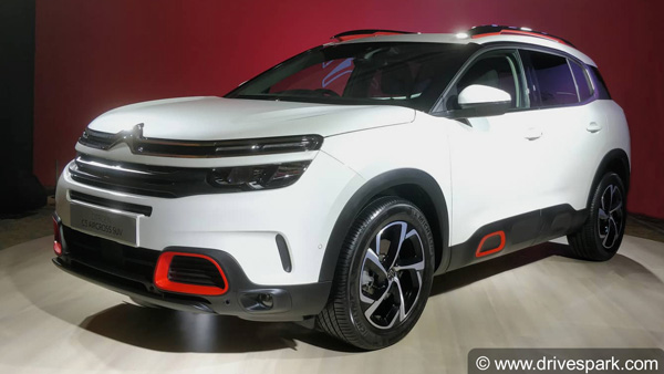 Citroen C5 Aircross Showcased French Carmaker To Arrive In India In