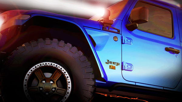 Jeep Teases Two Gladiator-Based Concepts For Moab