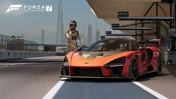 McLaren Senna Gets Added To Forza Motorsport 7