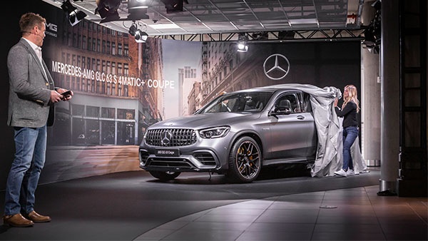 2019 Mercedes-AMG GLC 63 Revealed In New York — Meet The New SUV King Of The Green Hell