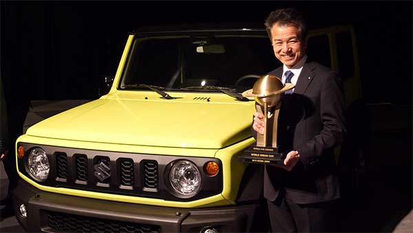 Suzuki Jimny Wins World Urban Car Of the Year 2019