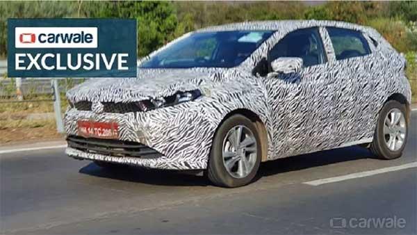 Spy Pics: Tata Altroz Premium Hatchback Spied Testing