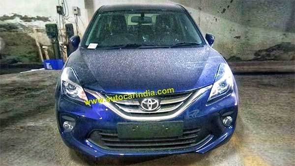 Toyota Glanza Spied For The First Time