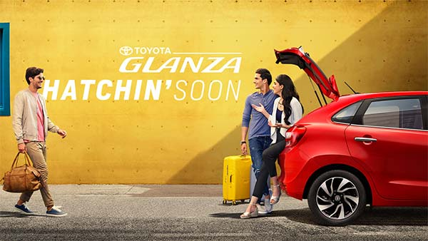 Toyota glanza teaser video