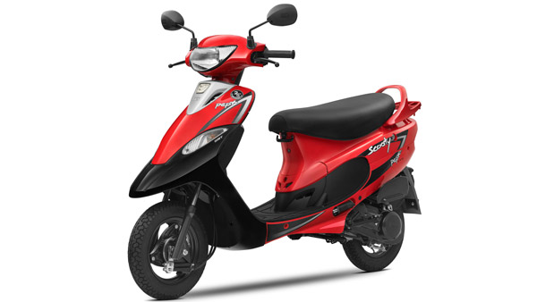 TVS Scooty Pep+ New Colours