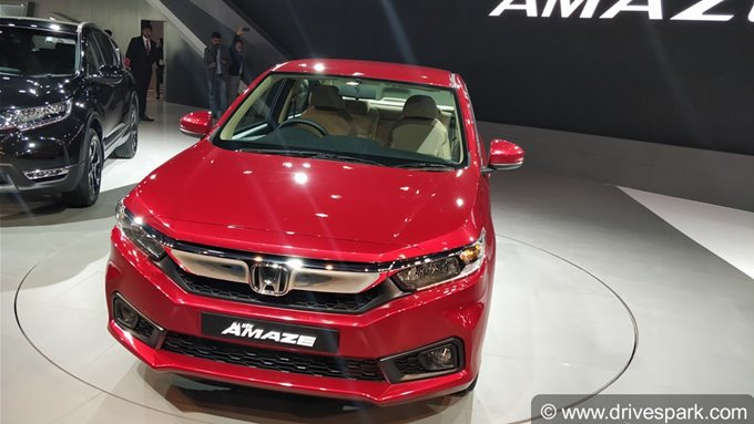 Honda Amaze Sells 85000 Units In 11 Months — Equals Forty Six Percent Of Honda's Total Sales