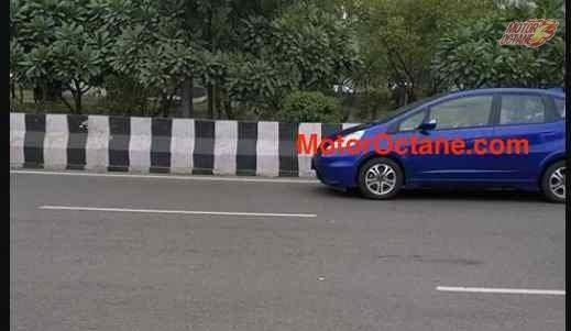 Honda Jazz EV Spotted Testing In India: Data Logging For Honda India's EV Due In 2024?