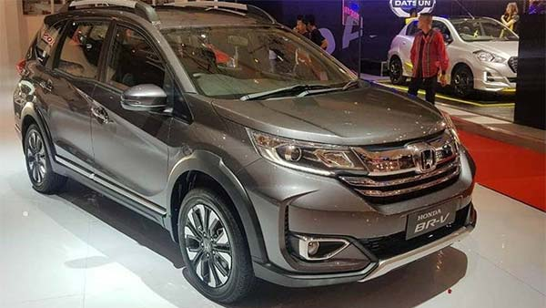 Honda Reveals BR-V Facelift At Indonesia International Auto Show —Expect India Debut Soon