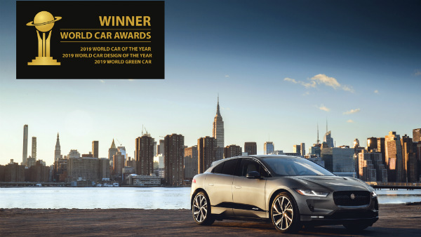 jaguar i-pace 2019 world car of the year awards treble