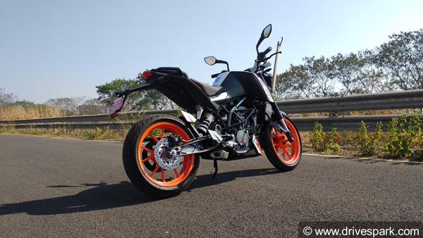 KTM 125 Duke Price Hiked