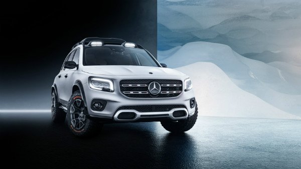 Mercedes-Benz GLB Concept Unveiled — To Rival The Audi Q3