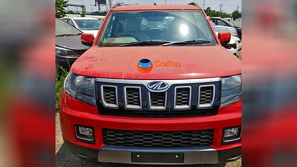 New Mahindra TUV300 Facelift Spied — Arrives At Dealerships Ahead Of Launch