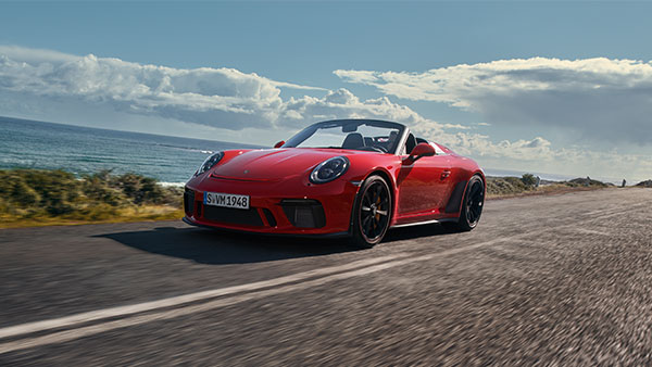 2019 New York Auto Show: Production-Spec Porsche 911 Speedster Revealed