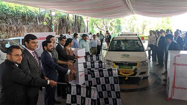 Uber Deploys Mahindra Electric Cars In Hyderabad