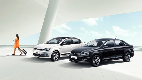 Volkswagen Ameo, Polo And Vento 'Black & White' Edition