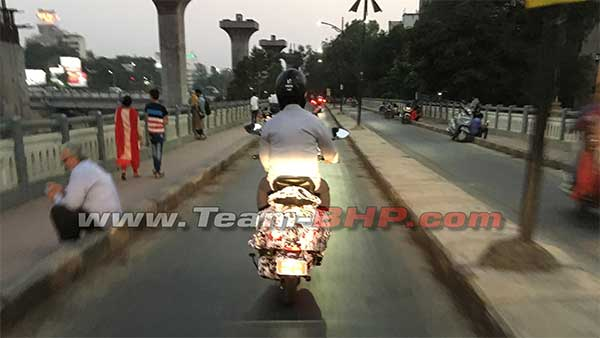 Scooter Spotted Testing Could Be The Bajaj Urbanite — Re-Introduction Of The Bajaj Petrol Scooter?