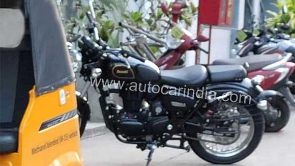 Benelli Imperiale 400 Spotted In India