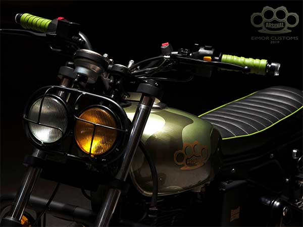 Royal Enfield Modification By EIMOR Customs - DriveSpark News