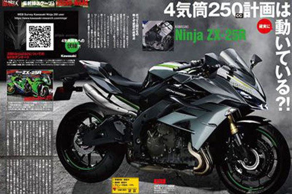 Four Cylinder Ninja ZX-25R To Debut