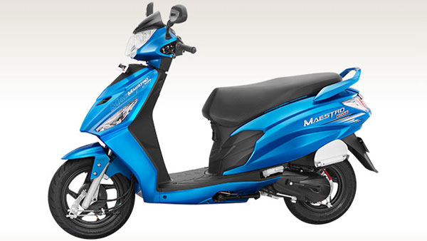 Hero Maestro Edge 125 Launching This Month