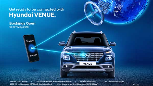 Hyundai Venue — Connected Car