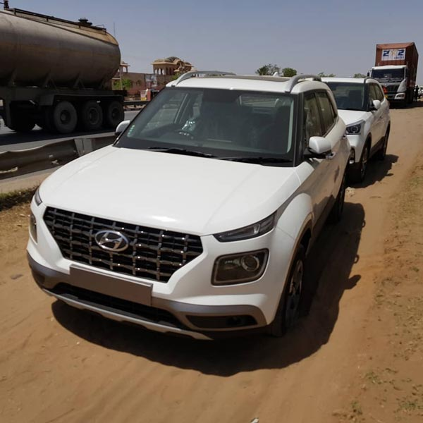 Hyundai Venue Arrives At Dealerships Ahead Of Launch In India To Go