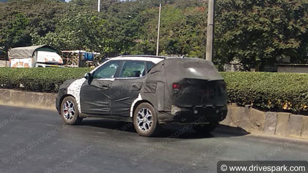 Kia SP2i SUV Spotted Ahead Of Launch