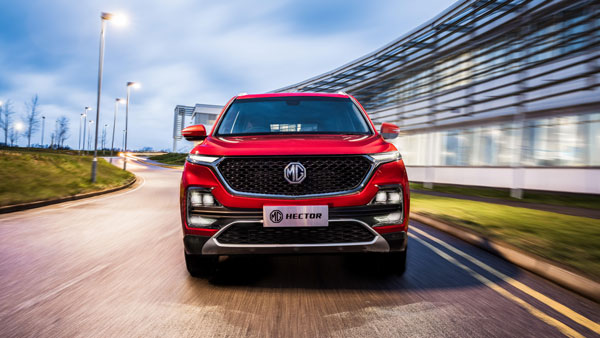 Mg hector india details